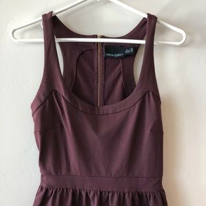 Cynthia Rowley Dresses - Cynthia Rowley Double Knit Racerback Dress